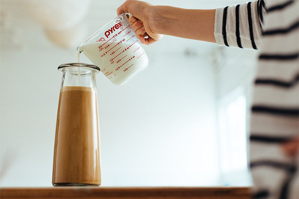 Horchata latte recipe with starbucks via instant coffee