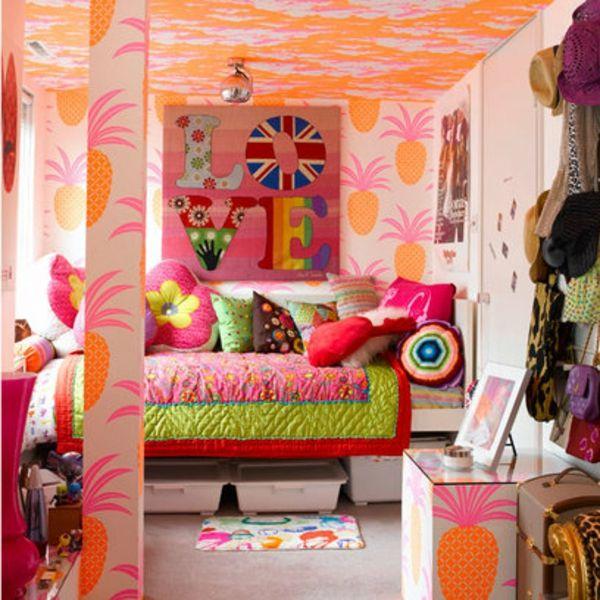 Buntes Jugendzimmer