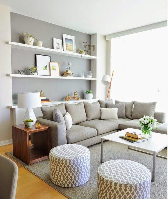 ▷101+ fotos de decoración de salas pequeñas y modernas【TOP