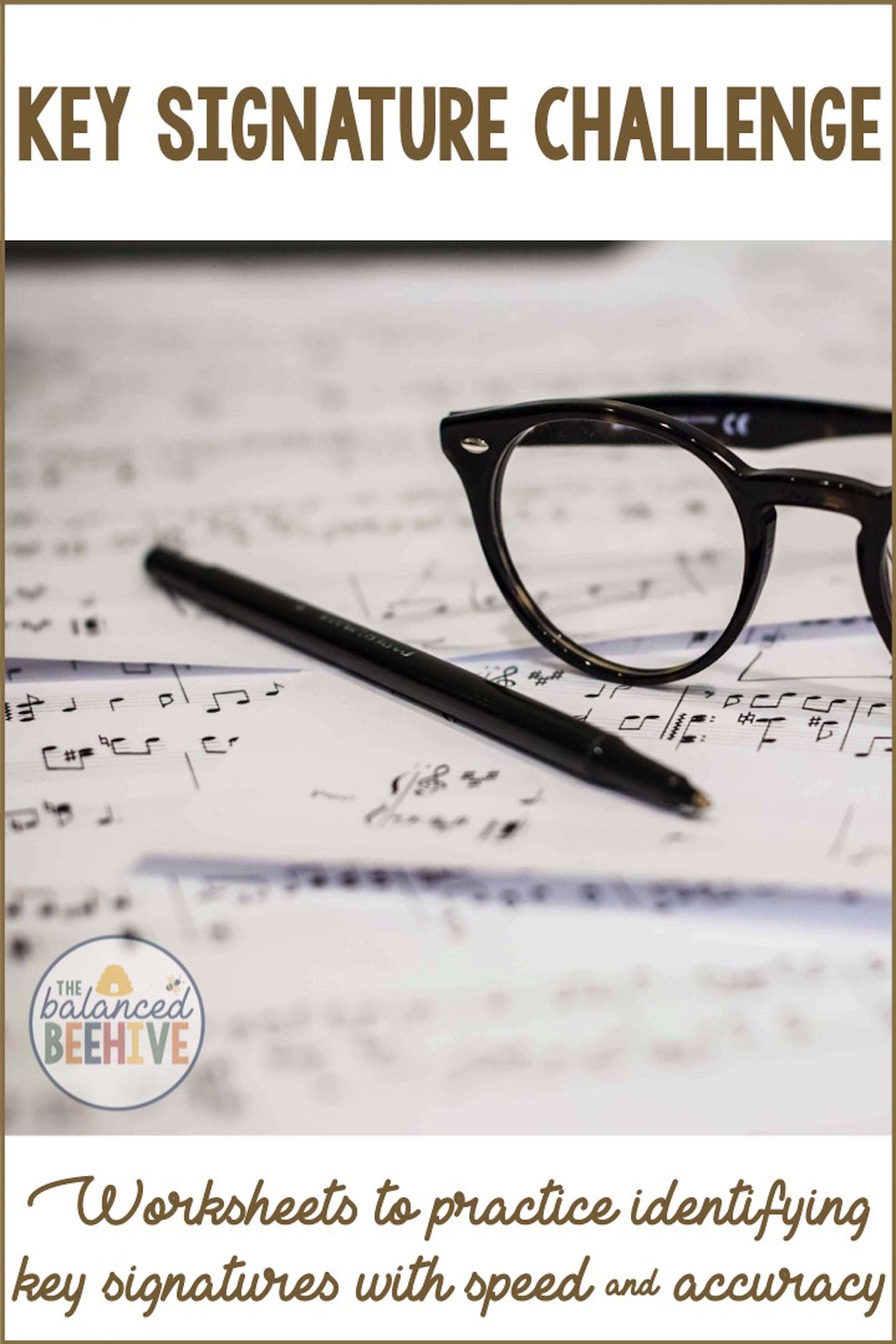 Key Signature Worksheets