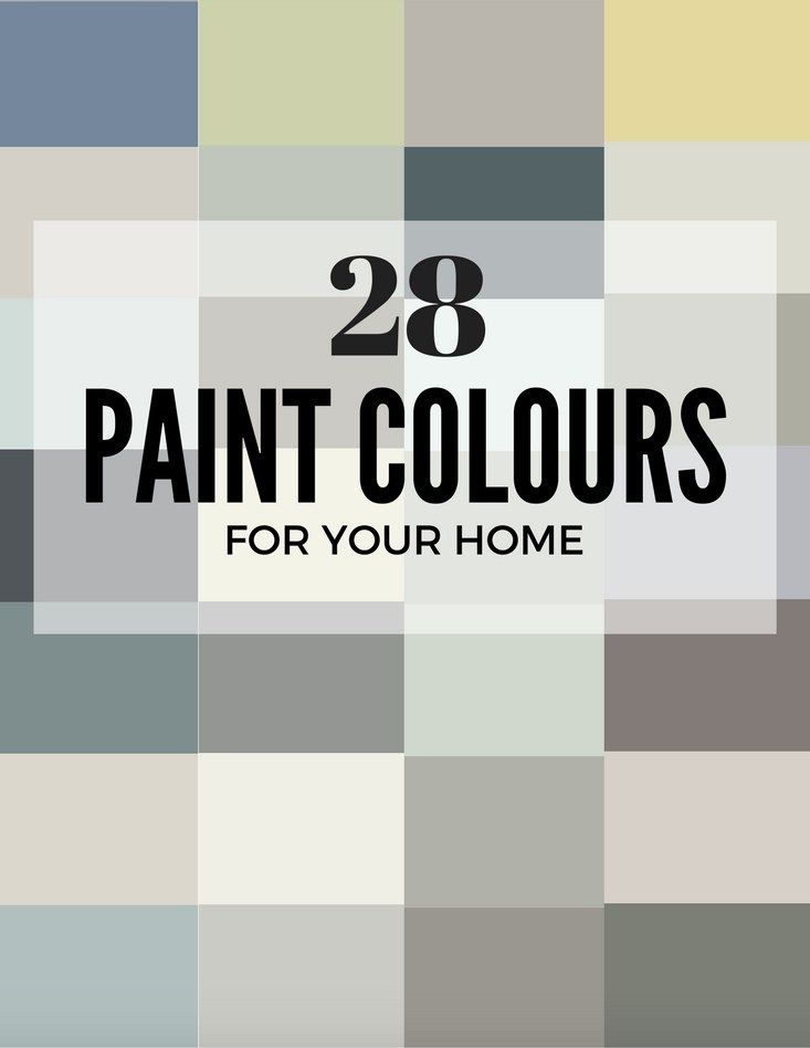 28 Best Paint Colors for your Home
