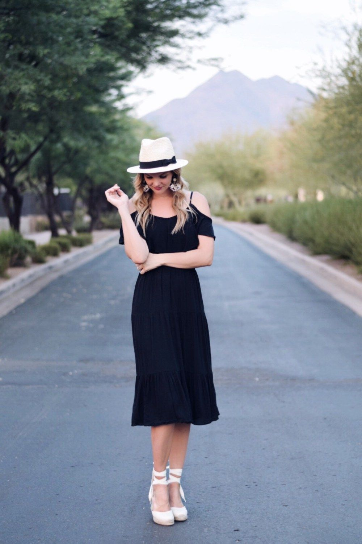 Budget Friendly Little Black Dress Espadrille Wedges Lauren Kay Sims Dress Espadrille Summer Black Dress Dresses [ 4104 x 2736 Pixel ]