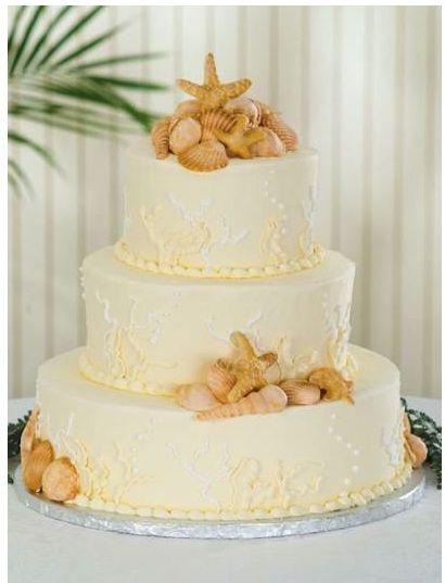 Pin By Lisa Stone On Wedding Ideas Beach Wedding Cake Wedding Cakes Beach Cakes