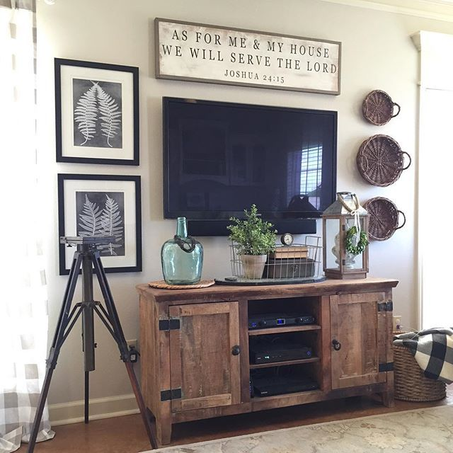 Like The Wood Color Of Tv Stand Wall Decor Living Room