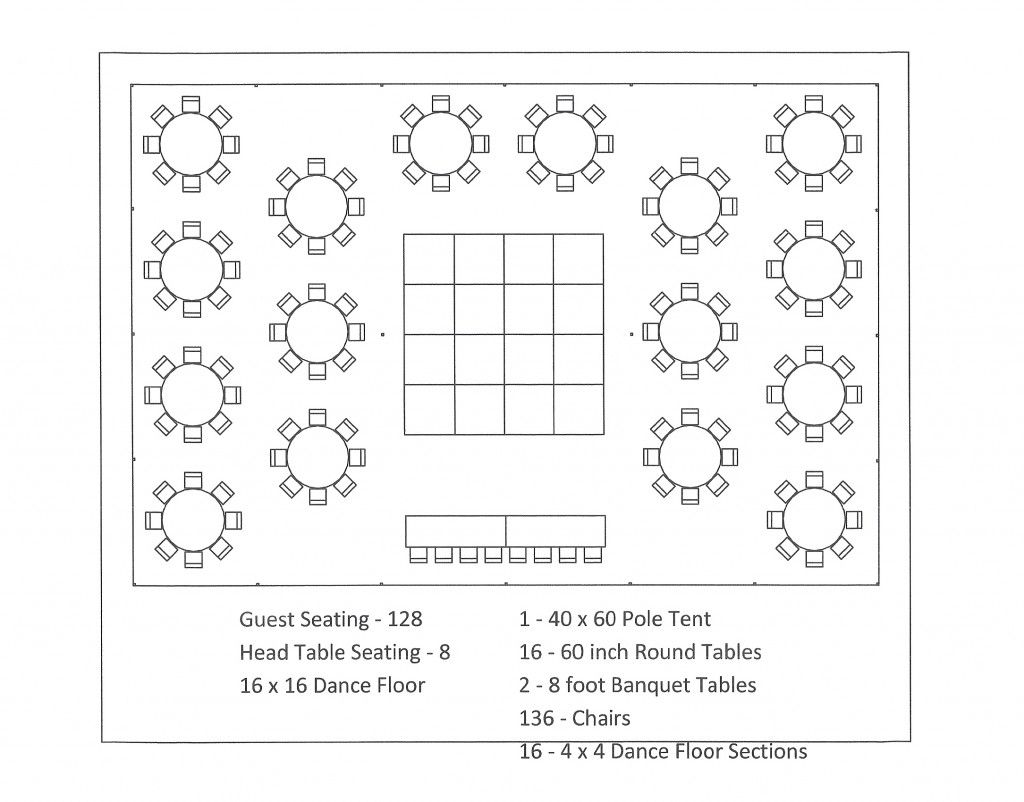 40 X 60 Pole Tent Seating Arrangements Seating Chart Wedding Template Reception Seating Chart Wedding Reception Seating Arrangement