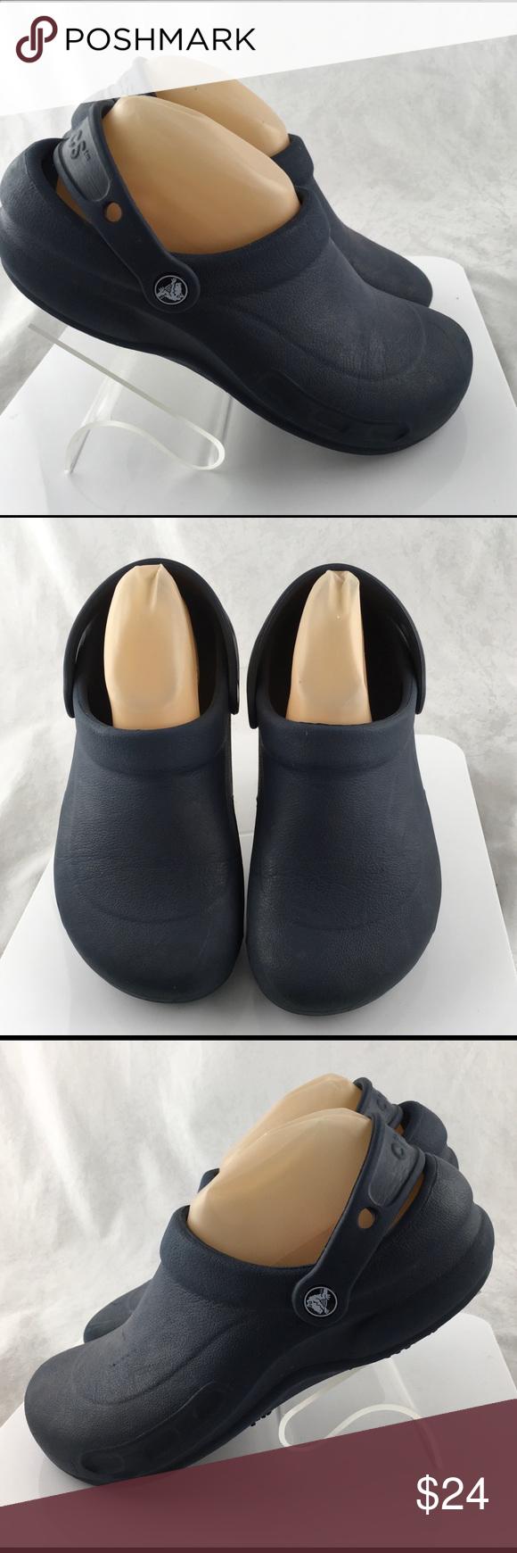 538770228d6e Crocs Bistro Clogs Work Shoes Slip Size 8 Mens 6 Crocs Bistro Clogs Work  Shoes Slip Resistant Womens Size 8 Mens 6 CROCS Shoes Mules   Clogs
