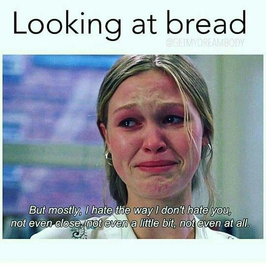 Funny Healthy Eating Meme : Looking at bread diet and fitness humor memes fit