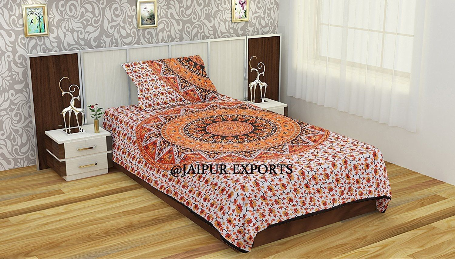SKU 5106 Twin Duvet Cover by JAIPUR EXPORTS Material