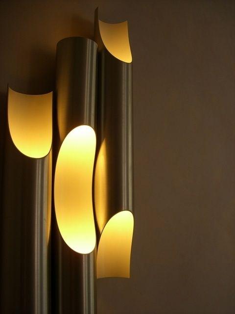 Wall Lamp Shader Nice Bamboo Idea With Images Bamboo Light
