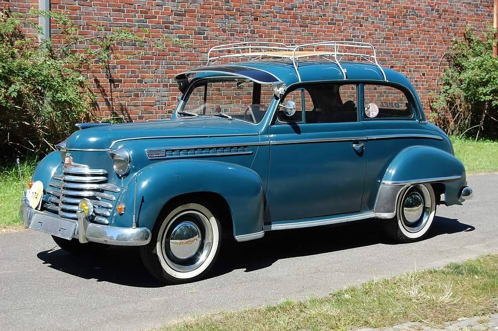Opel Olympia - Opel Olympia 1951 | For Sale! | Pinterest | Classic ...