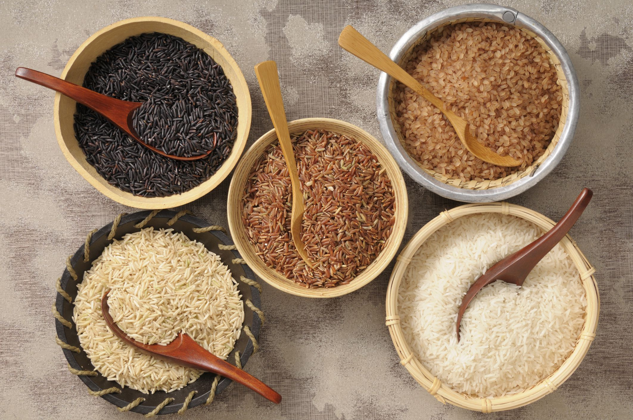 Rice is a starch that is rich in carbohydrates and is a