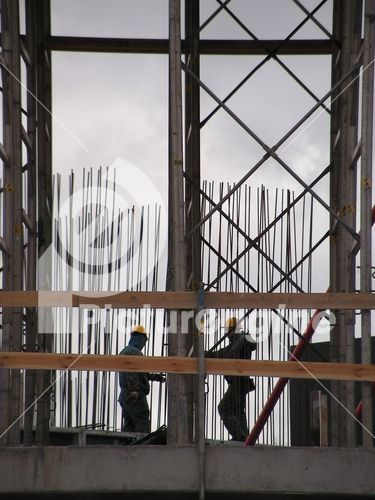 Stock Photography :: Workers at the construction site :: by maigi