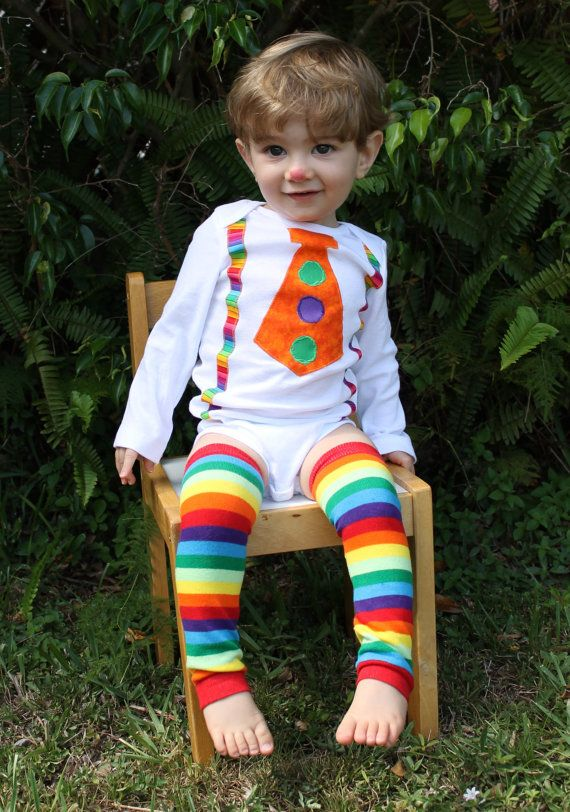 Clown Outfit  Baby Boy/Toddler Clown Outfit with by TarasAlphabet, $21.99