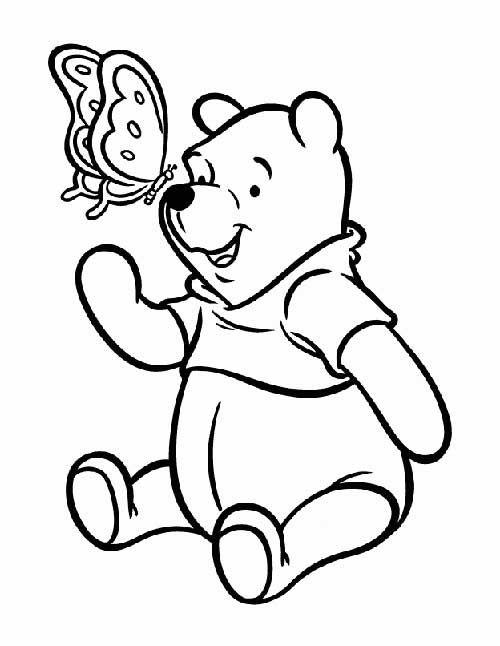 30 Ursinho Puff Pooh Para Imprimir E Colorir Em Casa Paginas