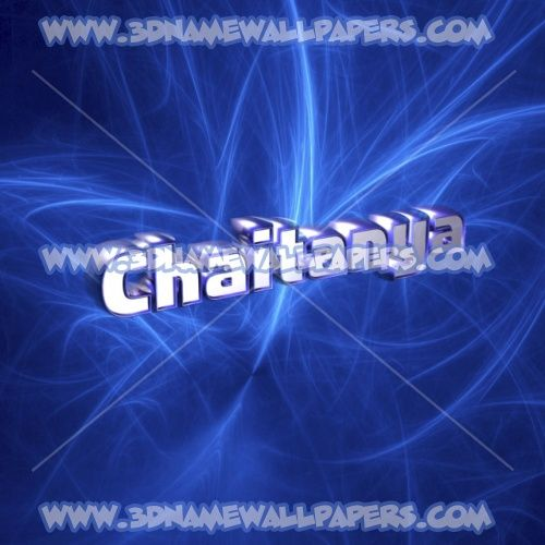 Chaitanya As A 3d Wallpaper
