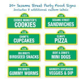 27 awesome sesame street sign printable template images cookie 27 awesome sesame street sign printable template images pronofoot35fo Choice Image