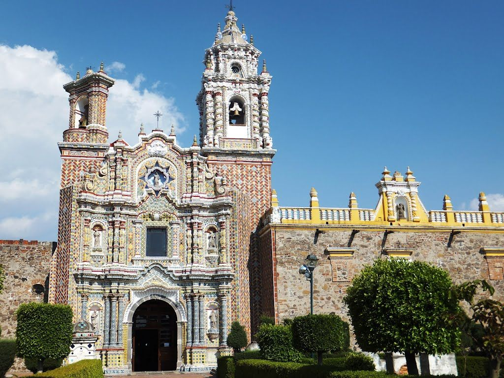 fachada de la iglesia de Acatepec