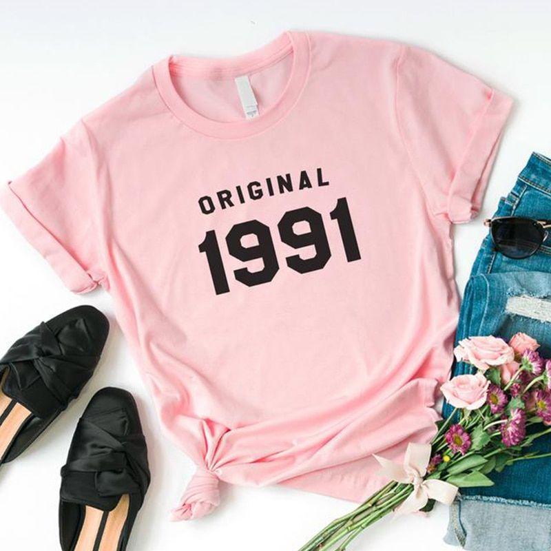 29th Birthday Original 1991 Women Causal T Shirt
