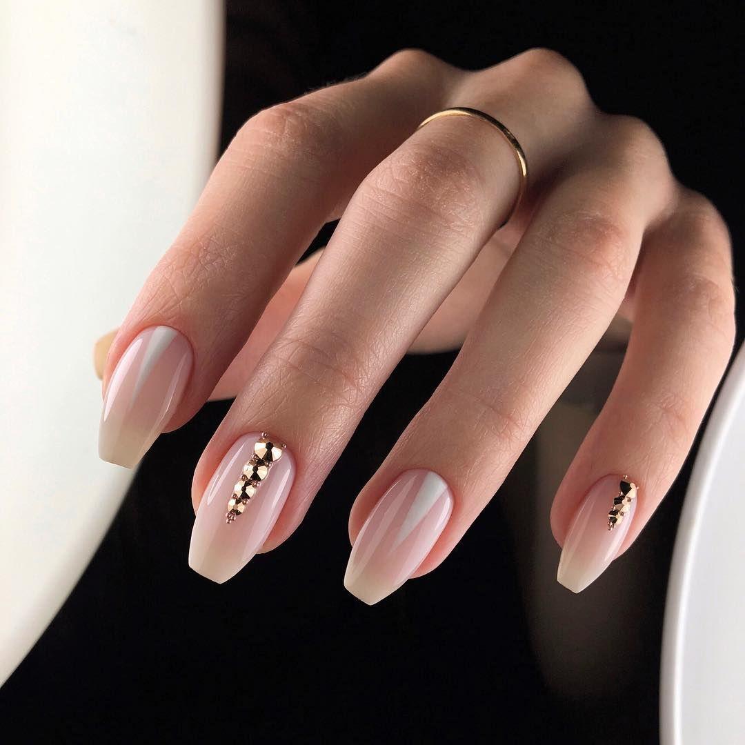 60 Trendy Short Coffin Nail Art Designs Ballerina Nails Shape Coffin Shape Nails Ballerina Nails Designs
