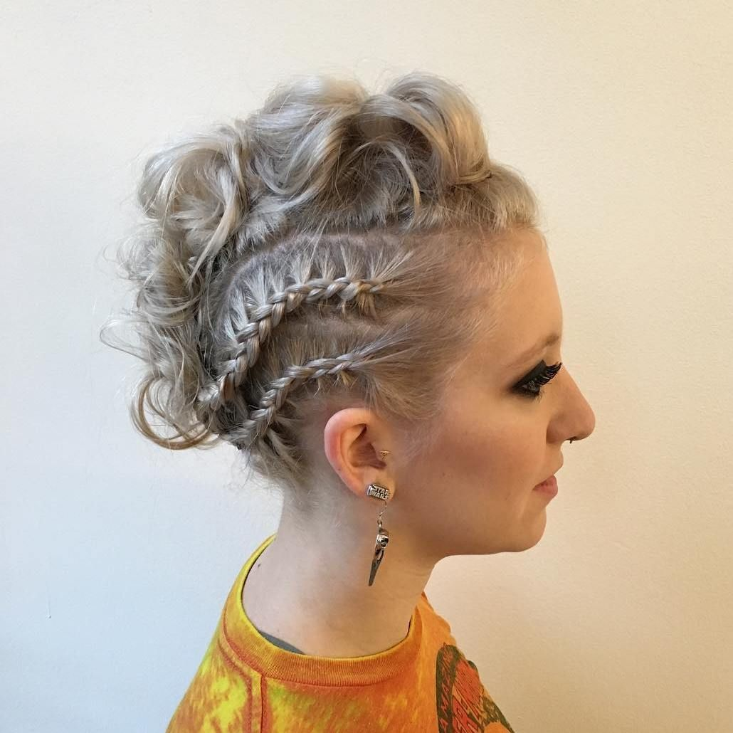gorgeous braided hairstyles for short hair