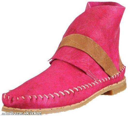 kozene indianky cizmy cizmicky pink