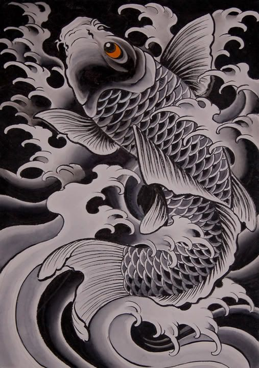 834d1c6db Chris Garver- if I ever got a tattoo... | tattoo | Koi fish tattoo ...