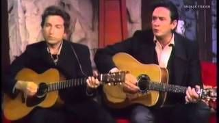 Johnny Cash And Bob Dylan Girl From The North Country