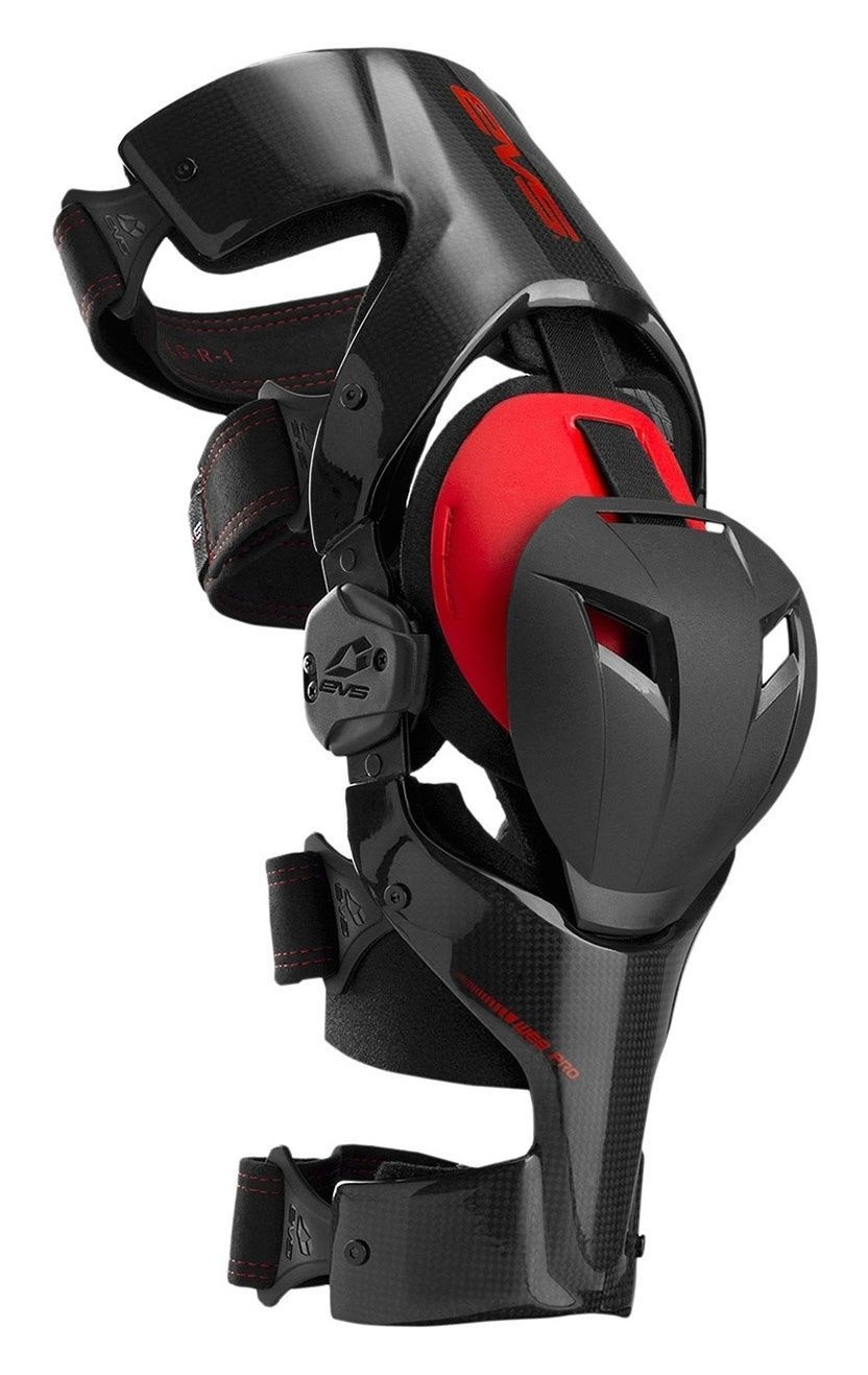 b5e2a3f11b $600 The latest evolution in the EVS line of premium knee brace delivers a  sleek, ultra lightweight low profile carbon composite frame. Designed with  an an…