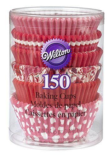 Wilton Valentine Multipack Standard Baking Cups 150pack This Is