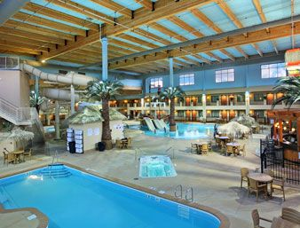 Pool At The Ramada Tropics Resort Conference Center Des Moines In Des Moines Iowa Indoor