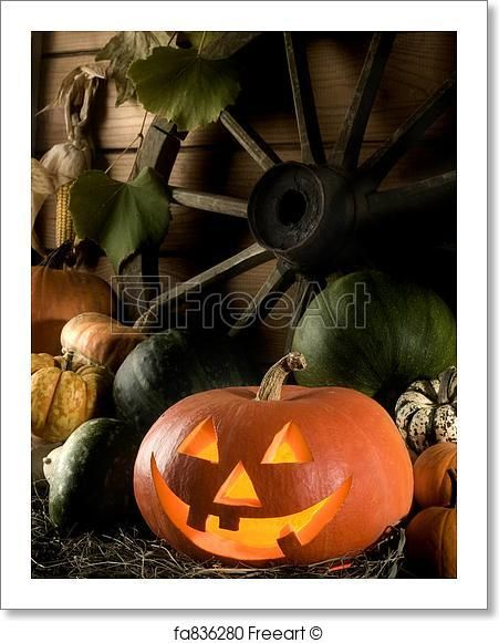 Halloween - Artwork  - Art Print from FreeArt.com