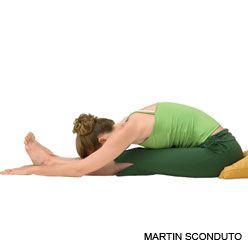 seated forward bend  paschimottanasana  yoga pose