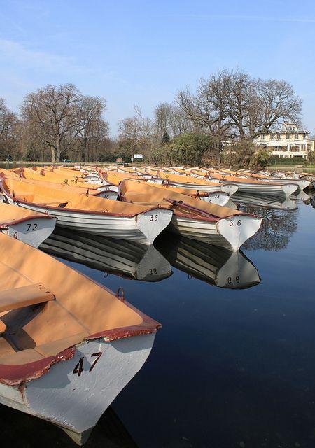 Barques #01 - Bois de Boulogne