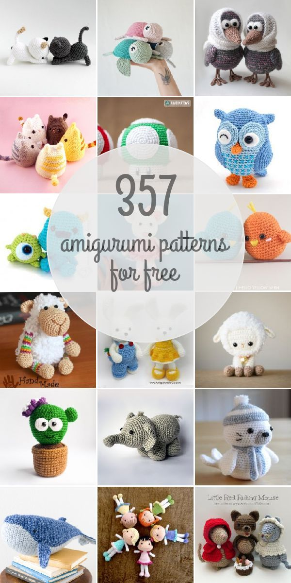 Amigurumi Patterns For Free | manualidades | Pinterest | Croché ...
