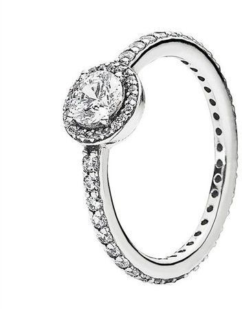 8cd9d3a17 Pandora Ring Classic Elegance 190946CZ58 - SIZE 8 LARGE   Products ...