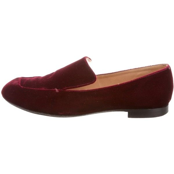 outlet official buy cheap Inexpensive Robert Clergerie Velvet Round-Toe Loafers release dates sale online VI3O8sj
