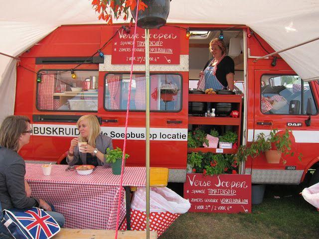 De Rollende Keukens : De rollende keukens rolling kitchens festival amsterdam http: www