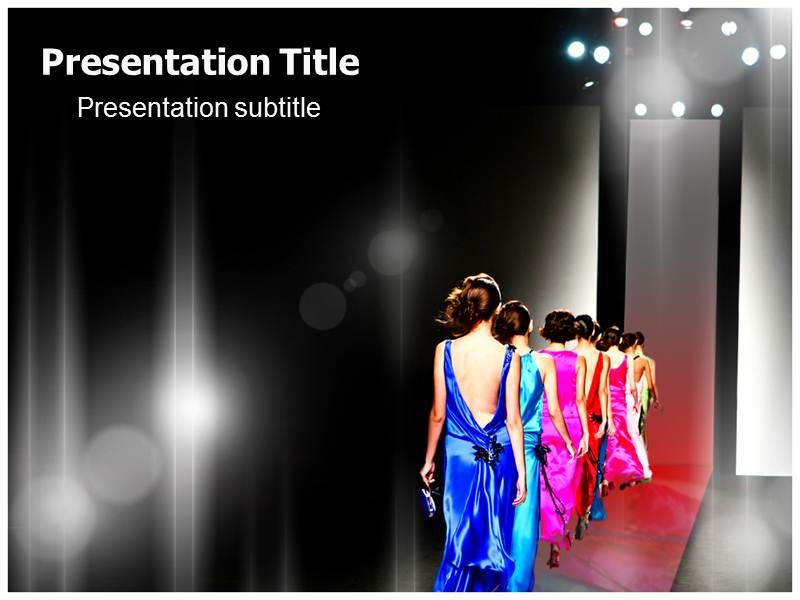 fashion show powerpoint presentation templates free fashion powerpoint templates all about