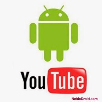 YouTube Apk file free download for Nokia X Android phones