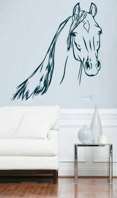 Horse Wall Decals, Wall Decal Sticker, Wall Stickers, Horse Rooms, Hobby  Room, Horse Art, Horse Mural, Beautiful Horses, Horseback Riding