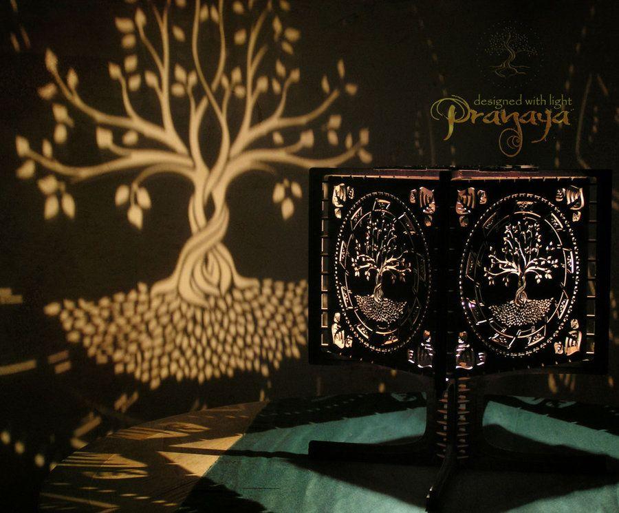 Pranaya Design Tree Of Life Shadow Lamp Prototype By  Pranayadesign.deviantart.com On @
