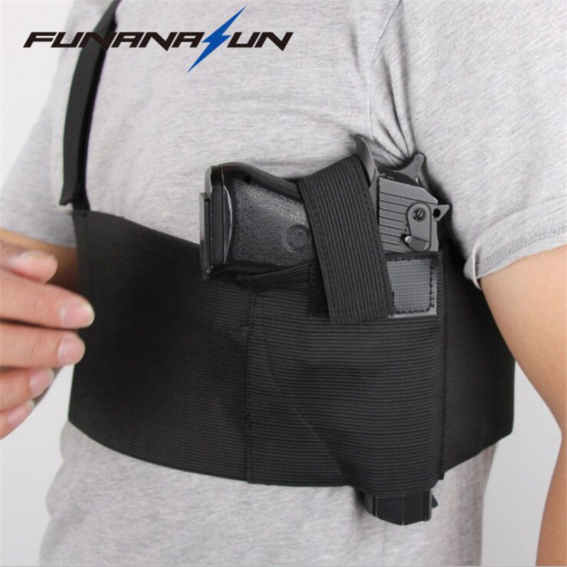 Tactical Underarm Gun Holster Deep Concealment Shoulder Holster for All Pistols