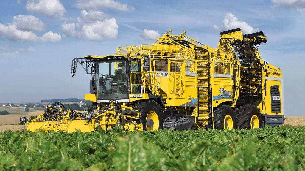 Ropa Prasentiert Den Neuen Tiger 6s Zuckerrubenroder Landwirtschaft Traktoren Landwirtschaftliche Maschinen