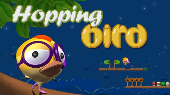 Hopping Bird Game With AdMob
