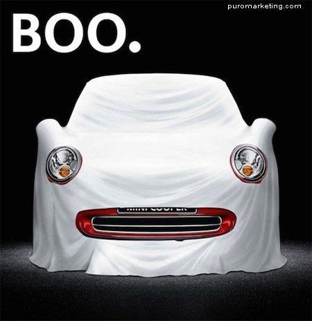 Boo! This car had fun yesterday. #Halloween