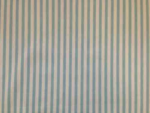 Marson Ticking Stripe Duck Egg Curtain Fabric Ticking Stripe