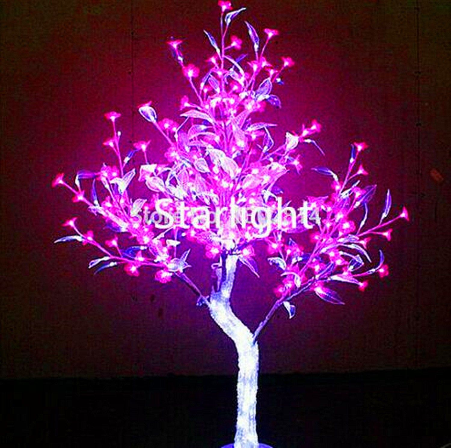 5ft 1 5m Outdoor Led Crystal Cherry Blossom Tree Pink Flower Clear Leaf Home Party Wedding G In 2021 Blossom Trees Cherry Blossom Tree Artificial Cherry Blossom Tree
