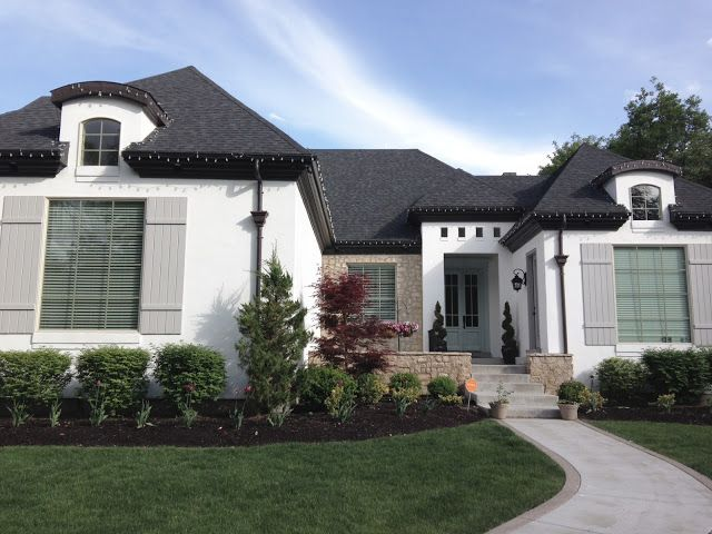 White Gold Exterior Paint Face Lift Colors I Want For My Own Home
