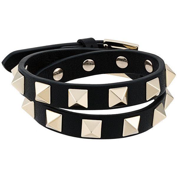 3763e73008bf Valentino Valentino Garavani Rockstud bracelet ❤ liked on Polyvore  featuring jewelry
