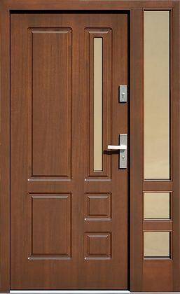 Photo of Drzwi zewnętrzne wzór 590s4 w farge orjekkisk